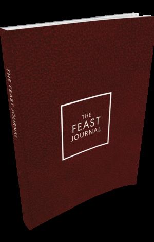 Feast Journal – Bold Maroon