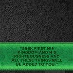 Kerygma Notebook – Black