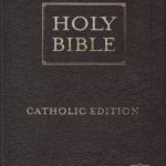 Holy Bible – New Living Translation Catholic Edition (Brown Leather)