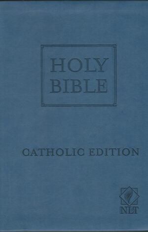 Holy Bible – New Living Translation Catholic Edition (Blue)